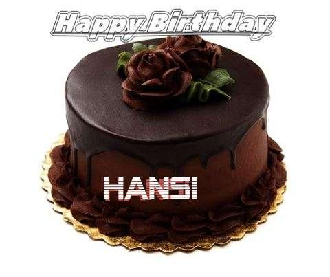 Birthday Images for Hansi