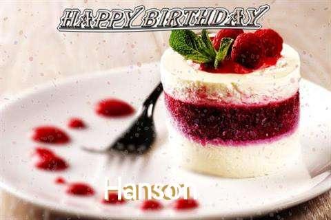 Birthday Images for Hanson