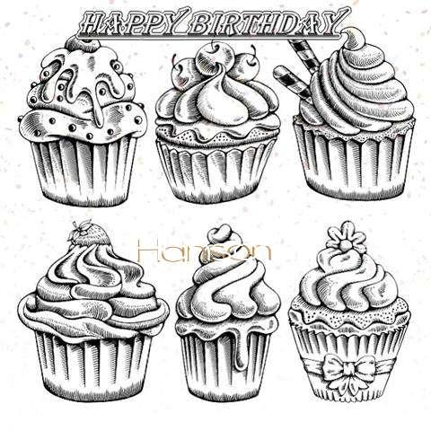 Happy Birthday Cake for Hanson