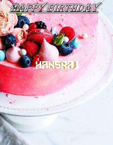 Happy Birthday Hansraj