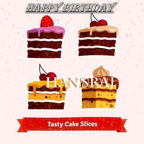 Happy Birthday Hansraj Cake Image