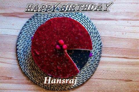 Happy Birthday Wishes for Hansraj