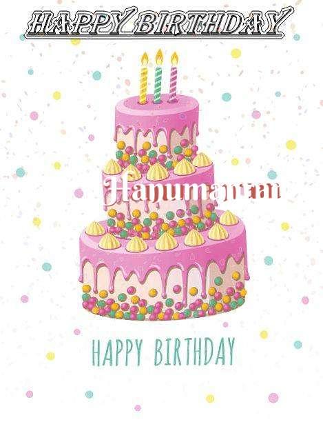 Happy Birthday Wishes for Hanumanram