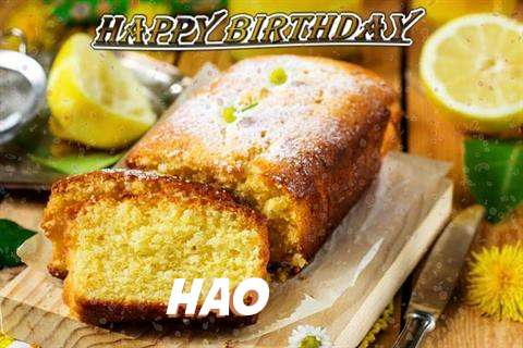 Happy Birthday Cake for Hao