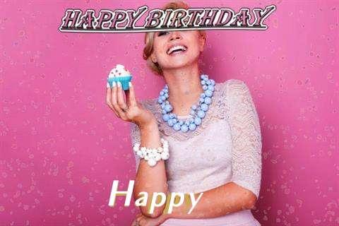 Happy Birthday Wishes for Happy