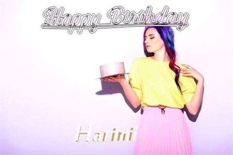 Harini Birthday Celebration