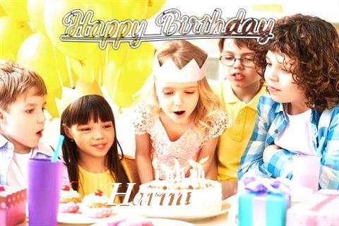 Happy Birthday to You Harini