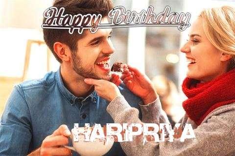 Happy Birthday Haripriya Cake Image
