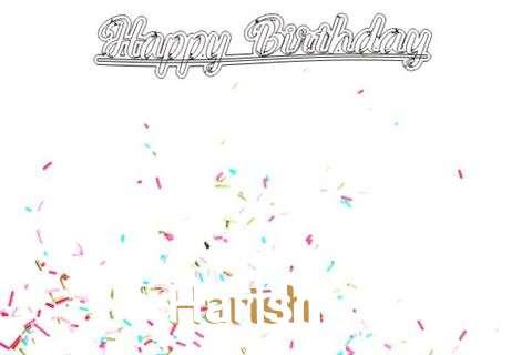 Happy Birthday to You Harish