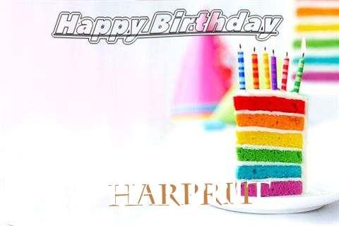 Happy Birthday Harprit Cake Image