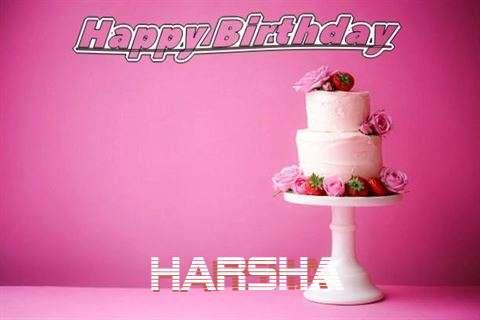 Happy Birthday Wishes for Harsha