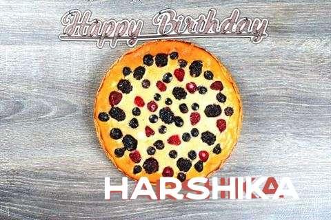 Happy Birthday Cake for Harshika