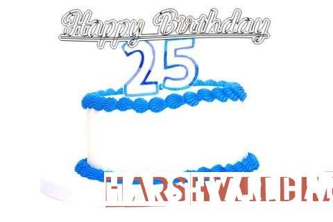 Happy Birthday Harshvardhan Cake Image