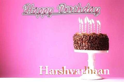 Happy Birthday Cake for Harshvardhan