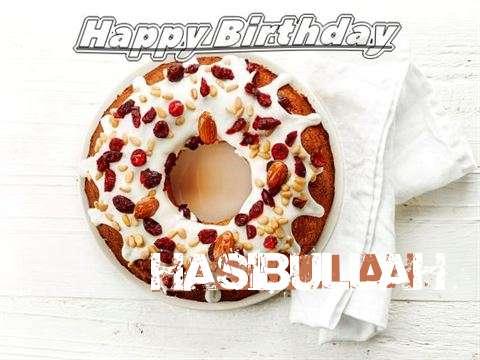 Happy Birthday Cake for Hasibullah