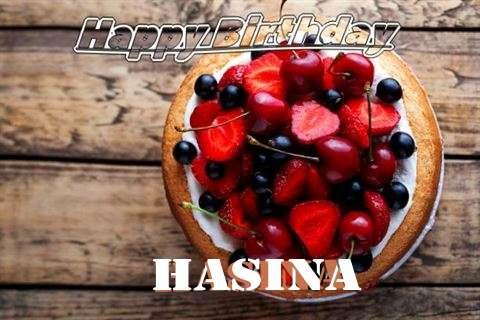 Happy Birthday Cake for Hasina