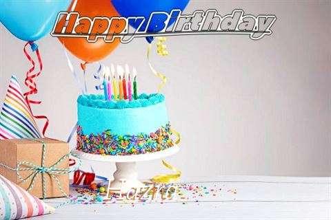 Happy Birthday Hazra Cake Image