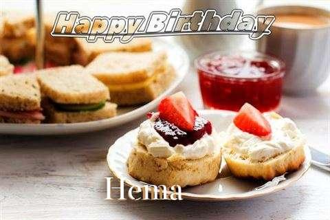 Happy Birthday Cake for Hema