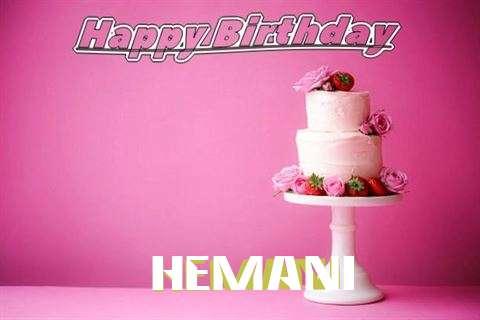 Happy Birthday Wishes for Hemani