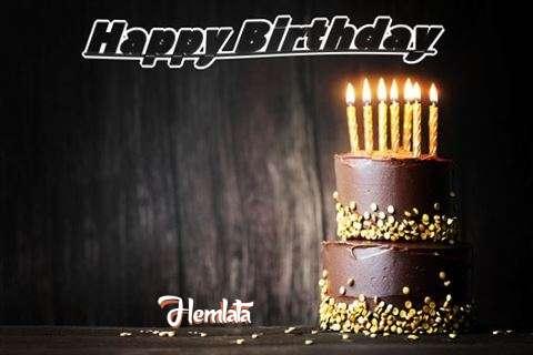 Happy Birthday Cake for Hemlata