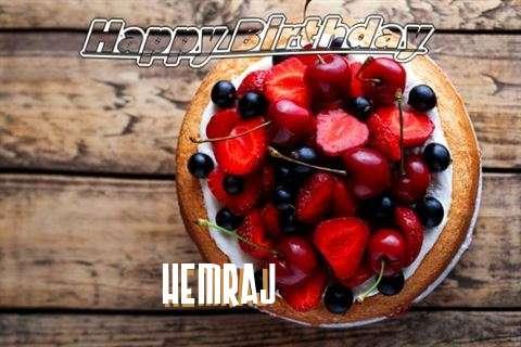 Happy Birthday Cake for Hemraj