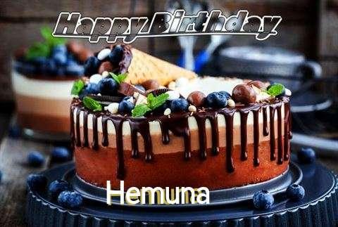 Happy Birthday Cake for Hemuna