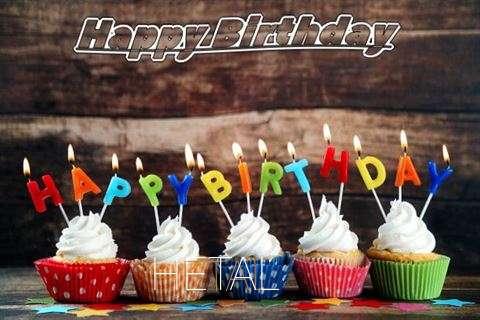 Happy Birthday Hetal Cake Image
