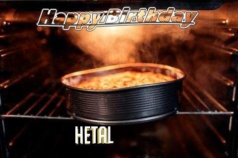 Happy Birthday Wishes for Hetal