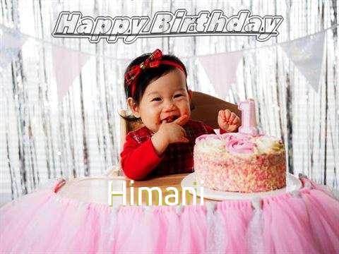 Happy Birthday Himani