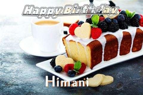 Happy Birthday to You Himani