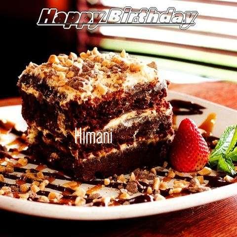 Happy Birthday Cake for Himani