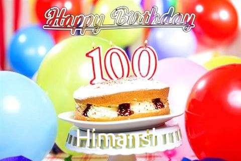 Happy Birthday Himansh