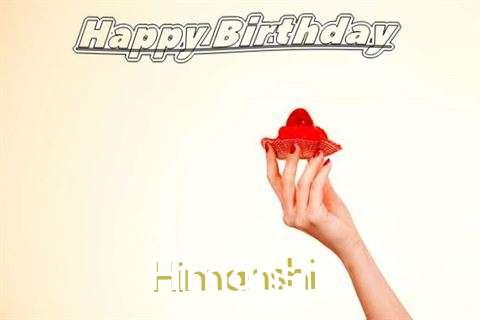 Happy Birthday to You Himanshi
