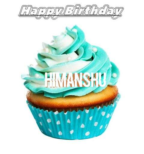 Happy Birthday Himanshu Cake Image