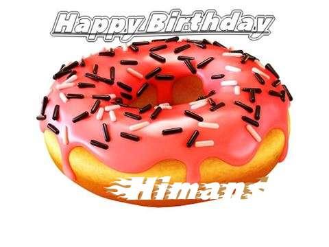 Happy Birthday to You Himansi