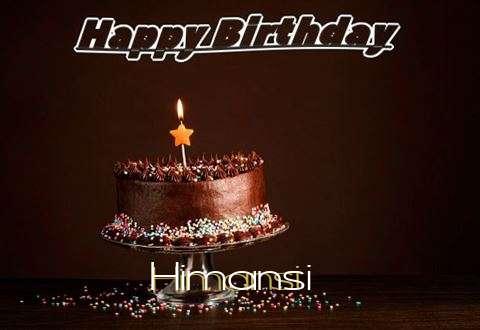 Happy Birthday Cake for Himansi