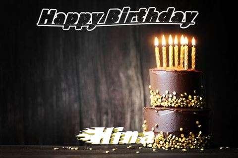 Happy Birthday Cake for Hina