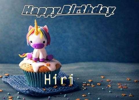 Happy Birthday Hiri