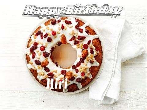 Happy Birthday Cake for Hiri