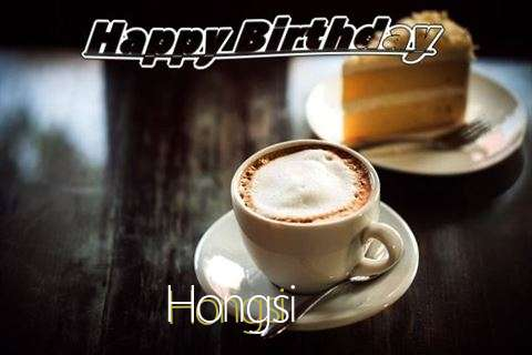 Happy Birthday Wishes for Hongsi
