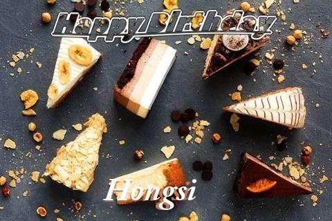 Happy Birthday to You Hongsi