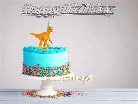 Happy Birthday Cake for Husina