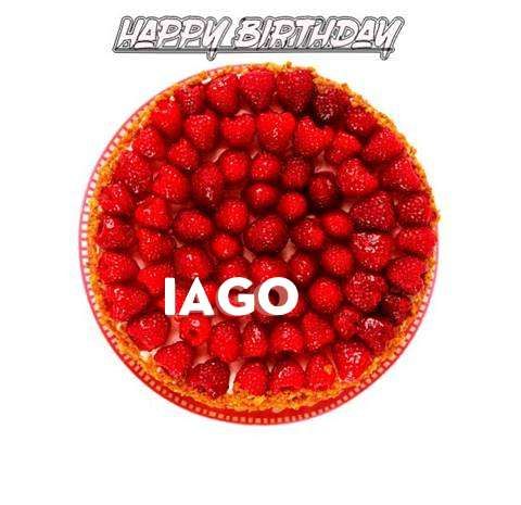 Happy Birthday to You Iago