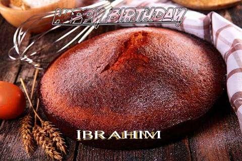 Happy Birthday Ibrahim Cake Image