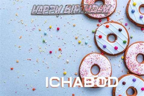 Happy Birthday Ichabod Cake Image