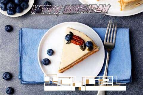 Happy Birthday Ichael Cake Image
