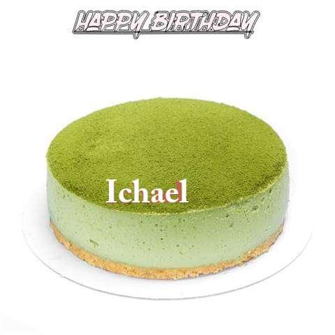 Happy Birthday Cake for Ichael