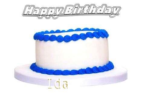 Happy Birthday Ida
