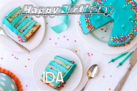 Birthday Images for Ida