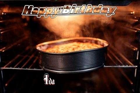 Happy Birthday Wishes for Ida